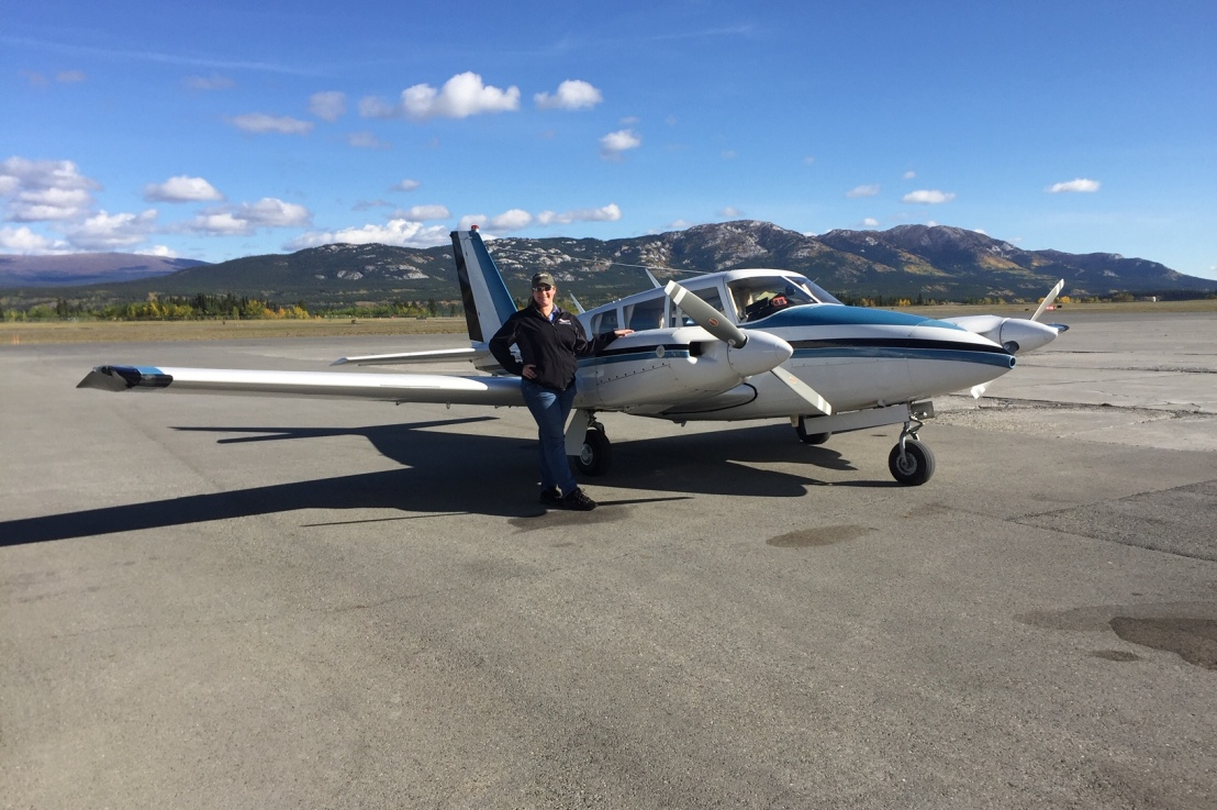 Engine Failure in the Northern Rockies of Canada